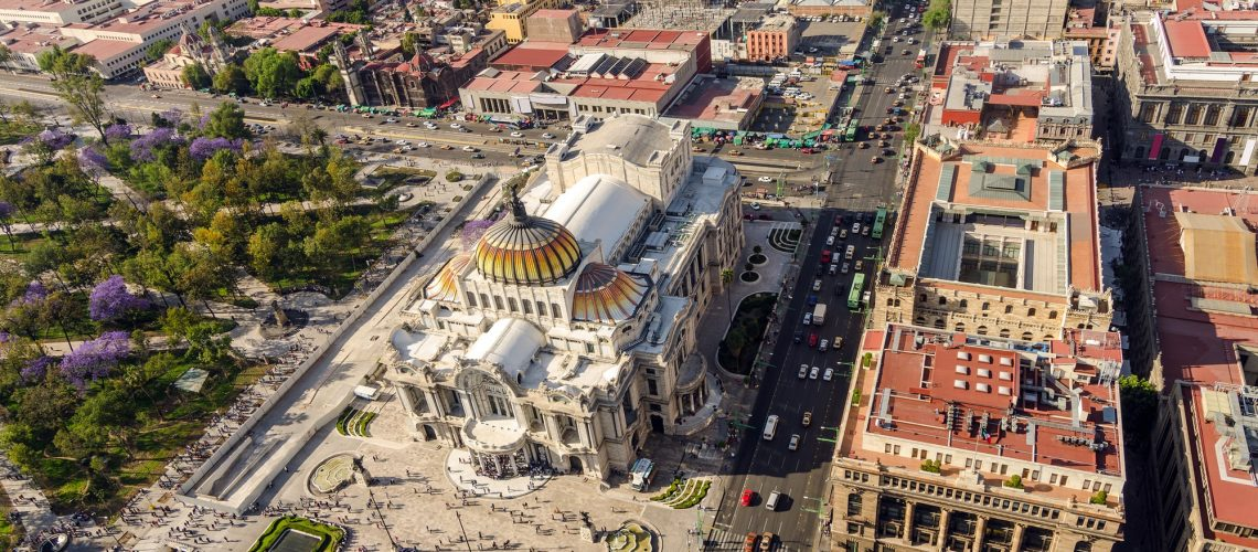 Mexico City Aerial View